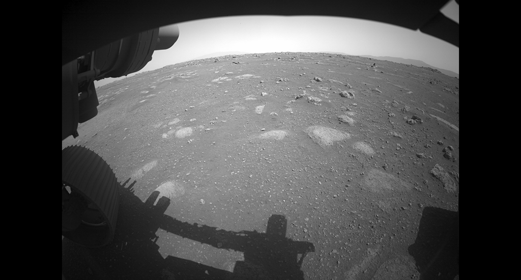 The Perseverance Mars rover landed on the Jezero Crater to assess the region's geology and past climate. The crater had its own river delta and was filled with water nearly 3.5 billion years ago. The image was taken by the HiRISE camera aboard NASA's Mars Reconnaissance Orbiter. Photo: NASA