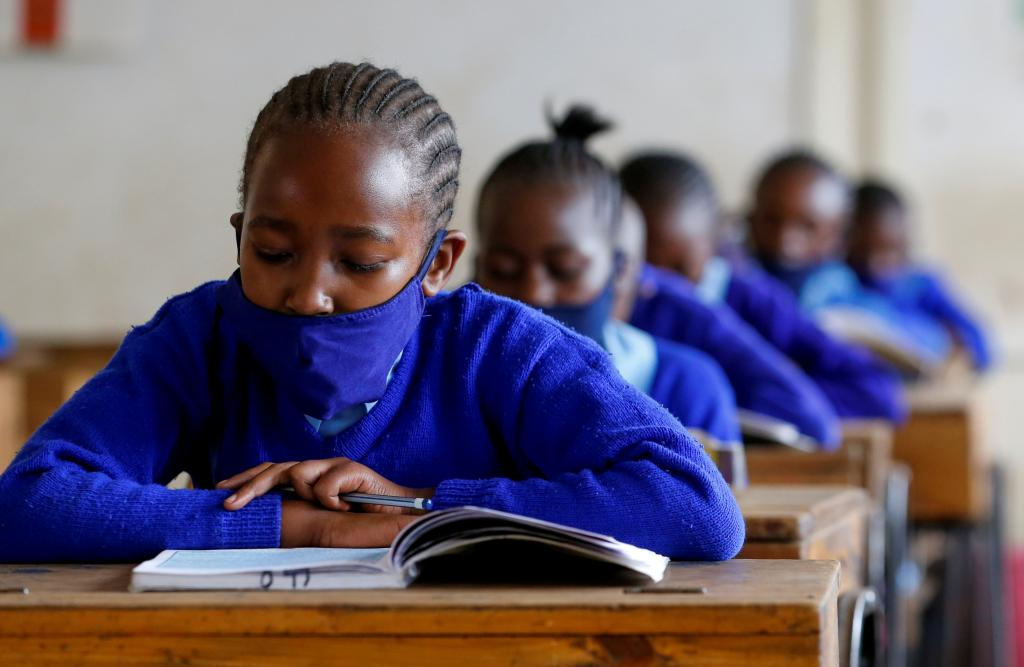 Two-thirds of low- and lower-middle-income countries have cut their public education budgets since the onset of the COVID-19 pandemic. Photo: The World Economic Forum