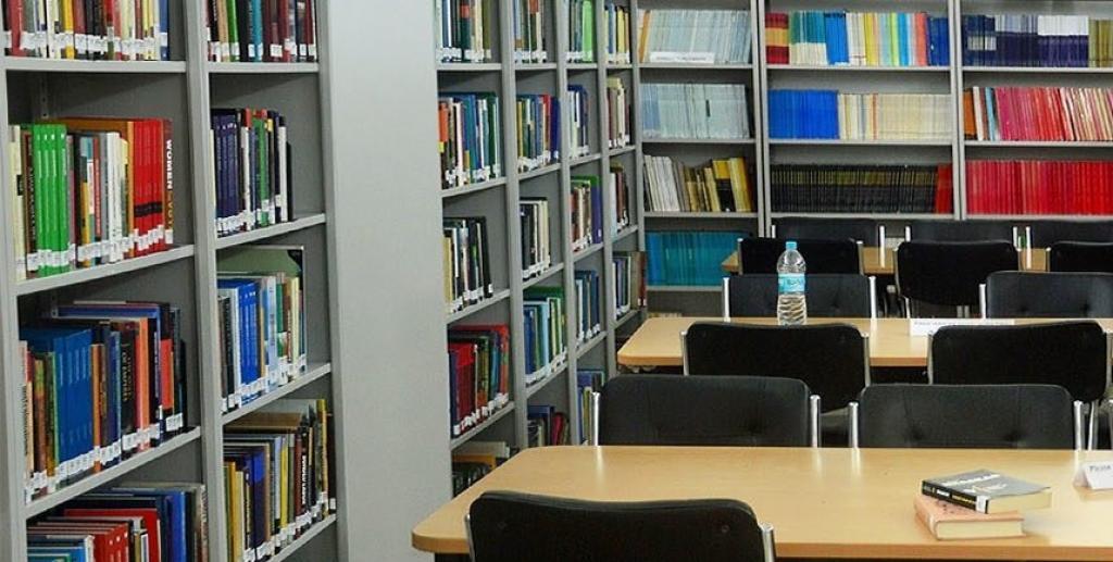 Nalanda University library. Bihar had 540 public libraries till the 1950s; only 51 of them now remain. Photo: Nalanda University