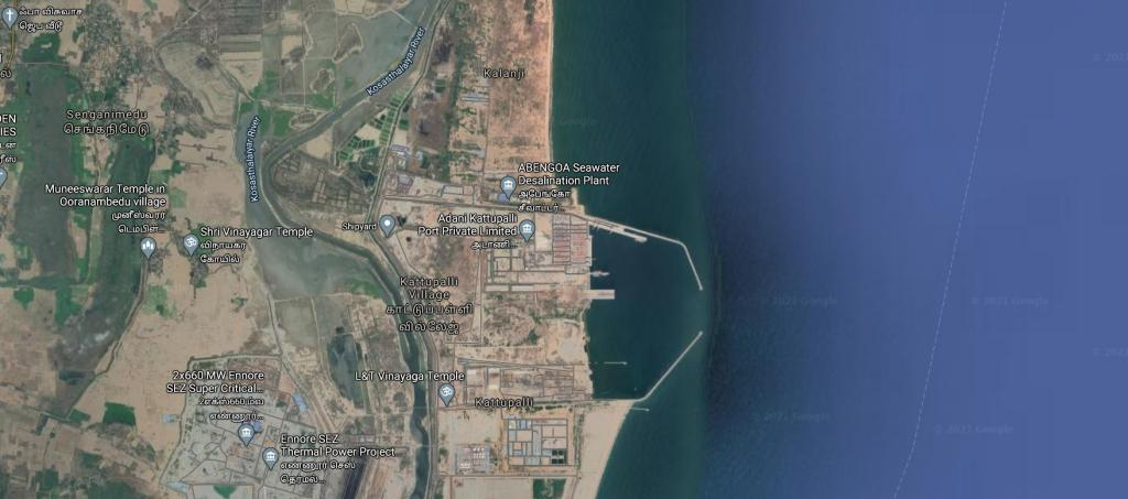 Why are Ennore residents protesting against Adani's Kattupalli Port expansion project?