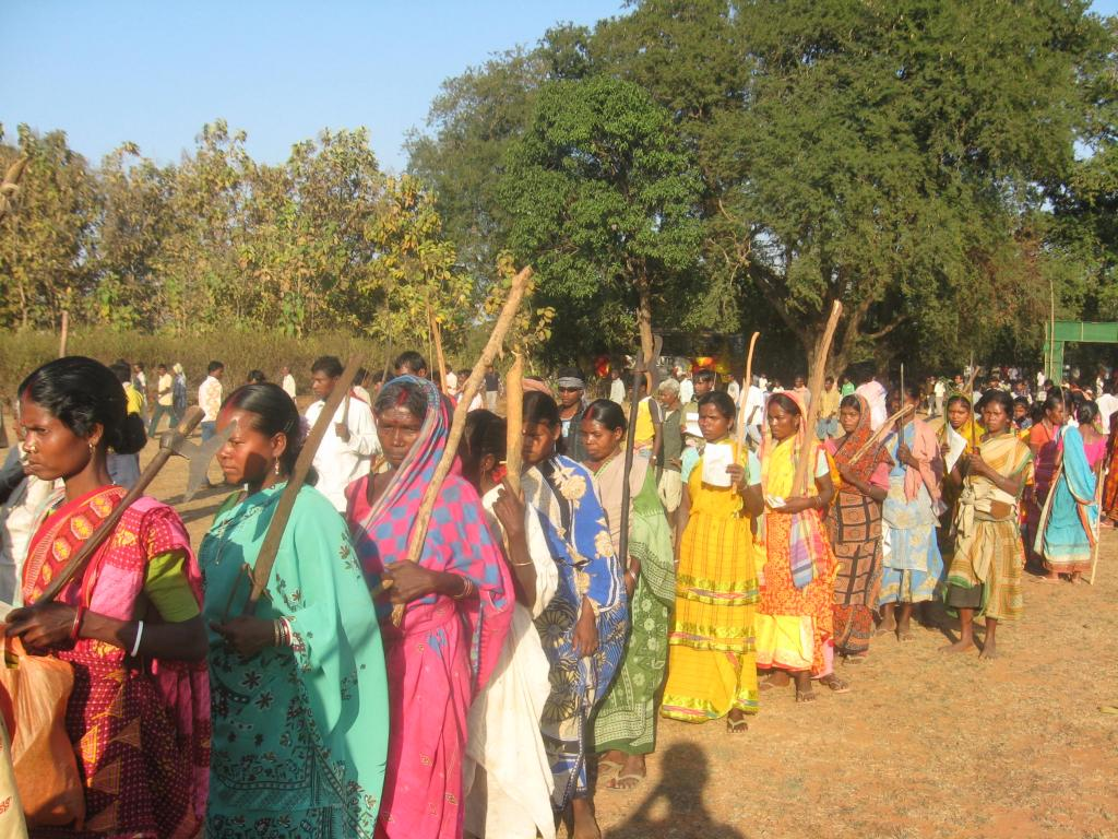 Bengal polls: What's in it for the tribal people? Photo: Wikimedia Commons