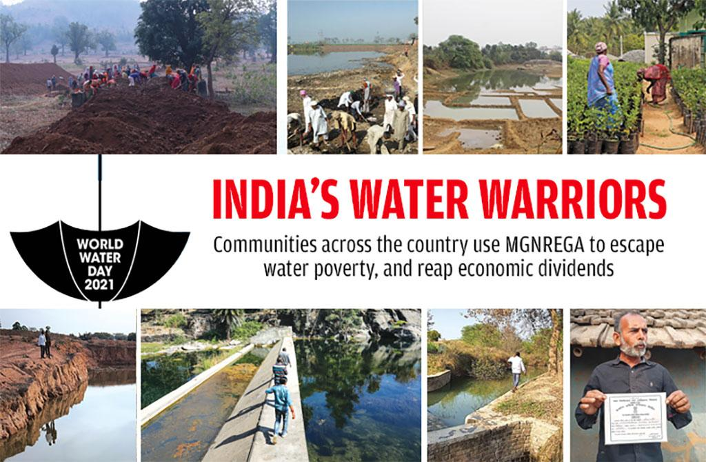 World Water Day- How Indian villages used 15 years of MGNREGA
