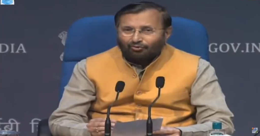 People above 45 eligible for COVID-19 vaccine jabs from April 1, Prakash Javadekar said March 23.