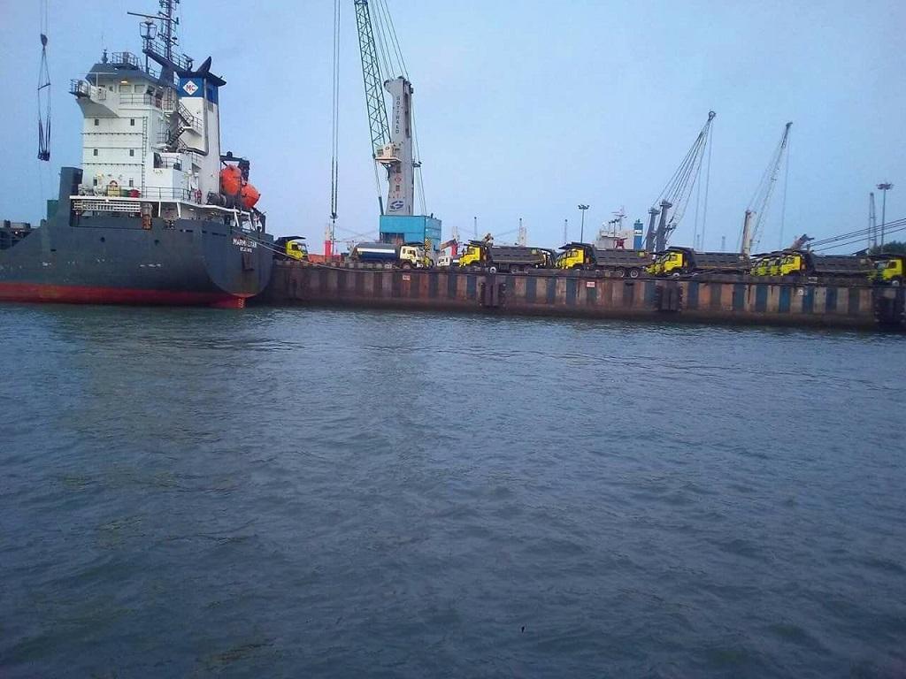 14 aboard a ship at Odisha's Paradip test positive for COVID-19. Photo: Ashis Senapati