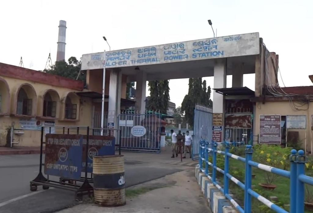 Talcher thermal power plant shuts down after failing to adhere to emissions norms. Photo: Ashis Senapati