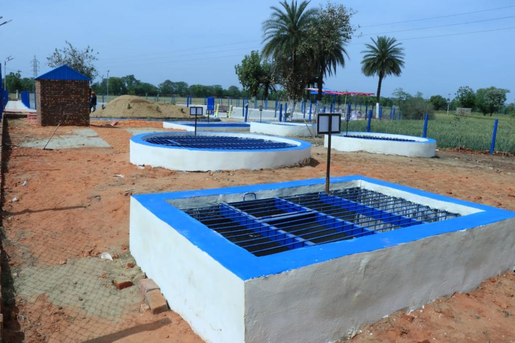 Patiala village in Punjab gets its wastewater treatment project. Photo: ABGUS