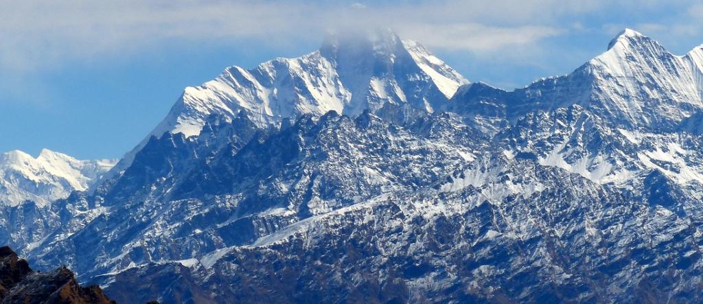 Glacial burst at Sumna on the Indo-China border near Reni in Uttarakhand
