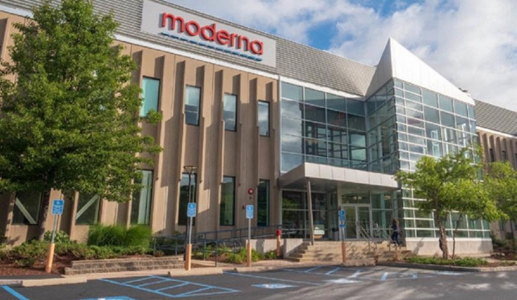 The Moderna Technology Center (MTC) in Massachusetts. Photo: @moderna_tx
