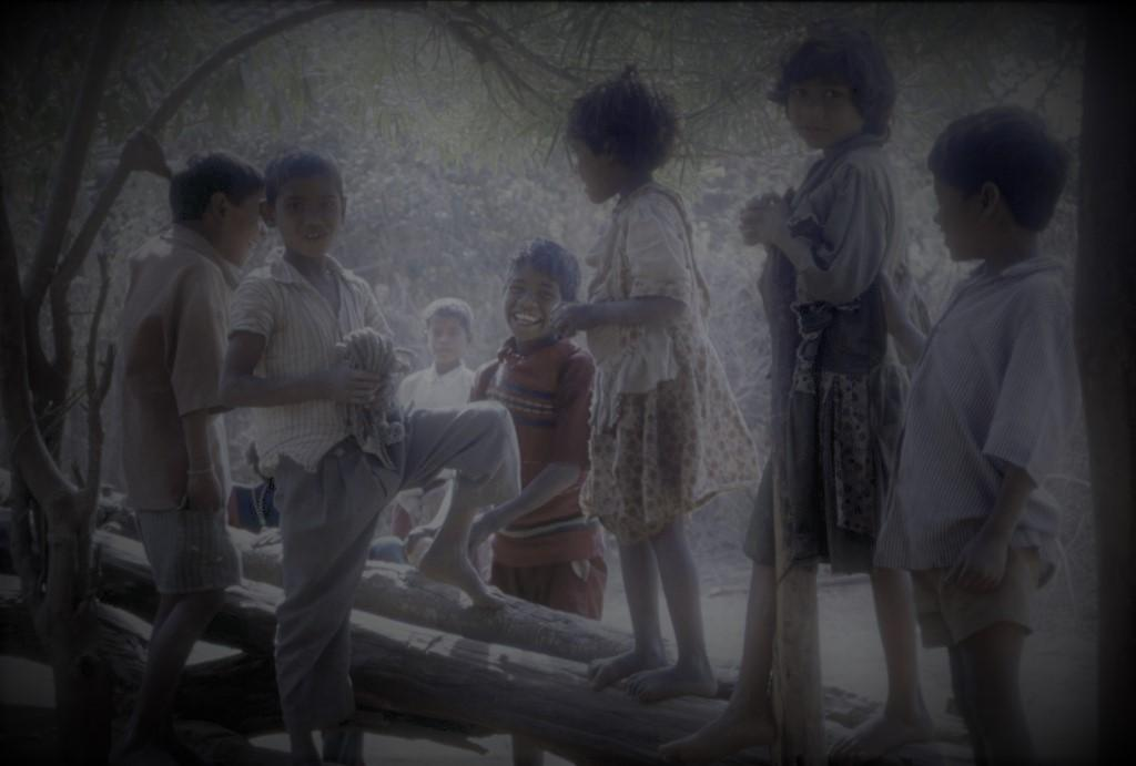 Children at an Indian village. Representative photo: CSE