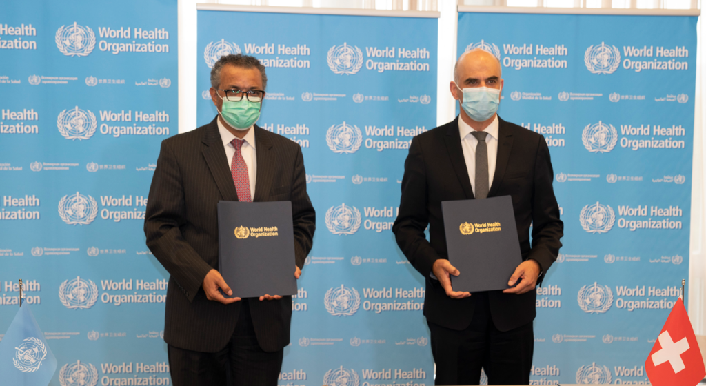 WHO launches global facility for pathogen storage, sharing and analysis. Photo: WHO