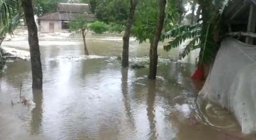 Tidal waves displaced several families in coastal districts of Odisha. Photo: Ashis Senapati