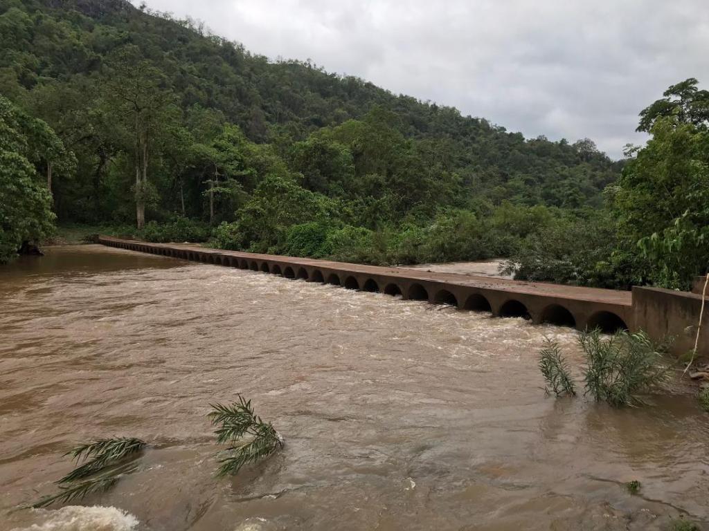 Cyclone Yaas: Water-level rising within Similipal. Photo: Ashis Senapati