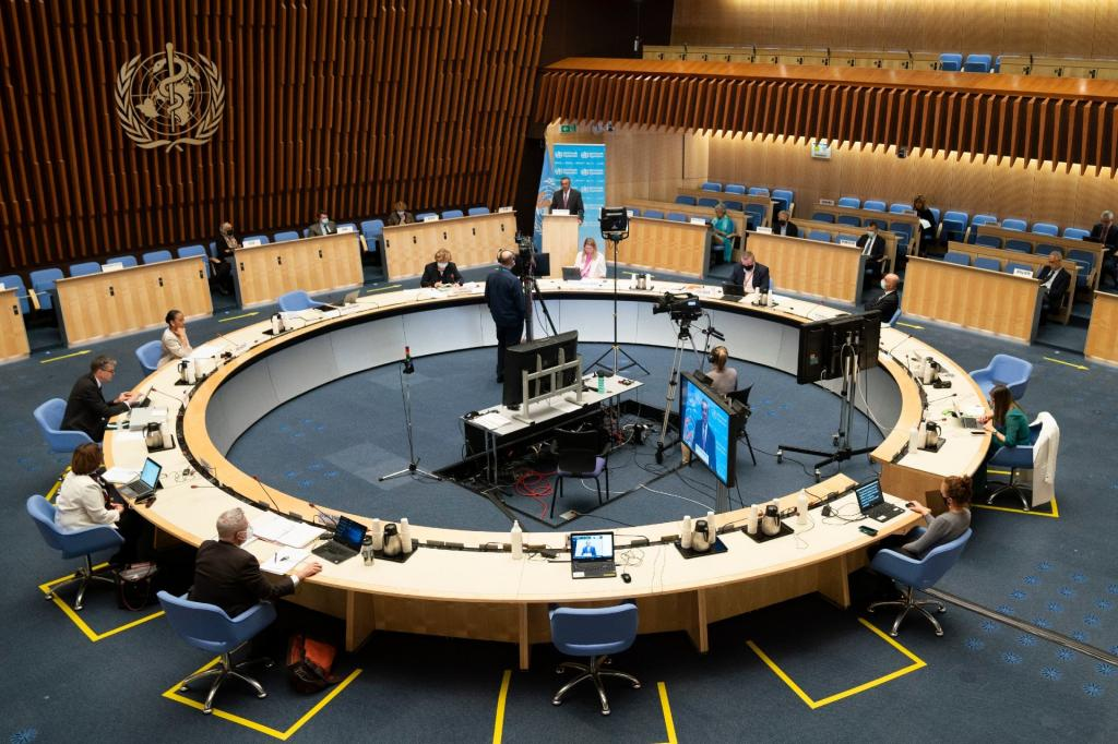 World Health Assembly adopts new resolution on malaria. Photo: WHO
