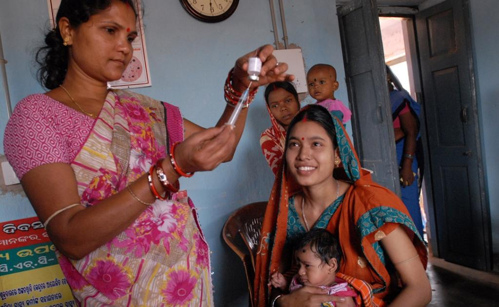 According to the SDG index, Jharkhand has only a total of 4 physicians, nurses and midwives per 10,000 population, as against target of 45. Photo: Wikipedia