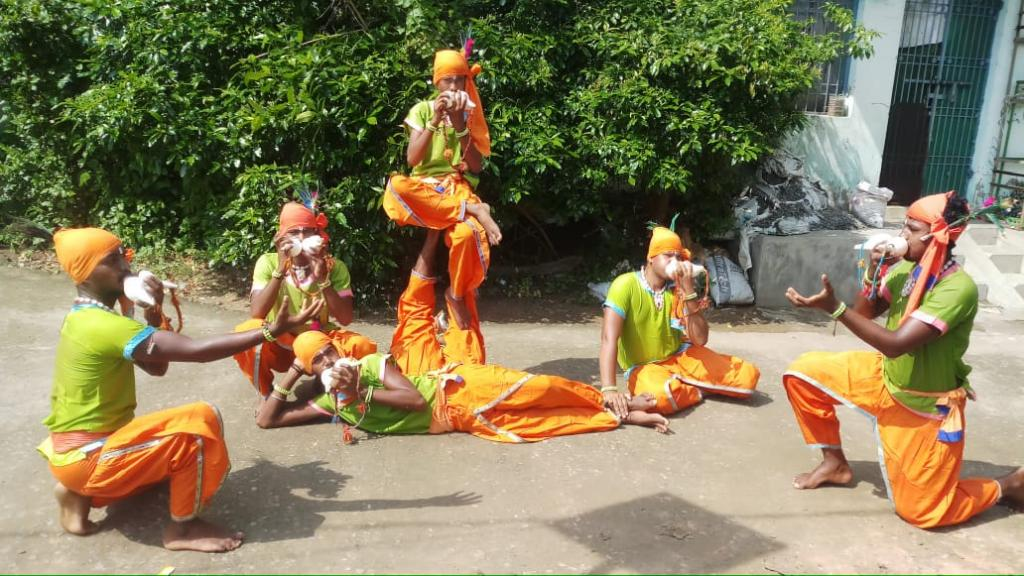 Odisha's conch-blowing community has been hit hard by the COVID-19 pandemic. Photo: Hrusikesh Mohanty