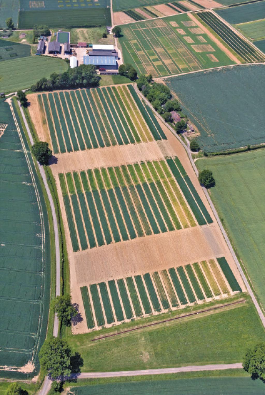 दक्षिणी इंग्लैंड के हर्टफोर्ड शायर काउंटी में चल रहे खेती के सबसे प्राचीन प्रयोग में जैवि क खादों और रासायनि क उर्वरकों का उपज पर पड़ने वाले प्रभावों का अध्ययन कि या जाता है