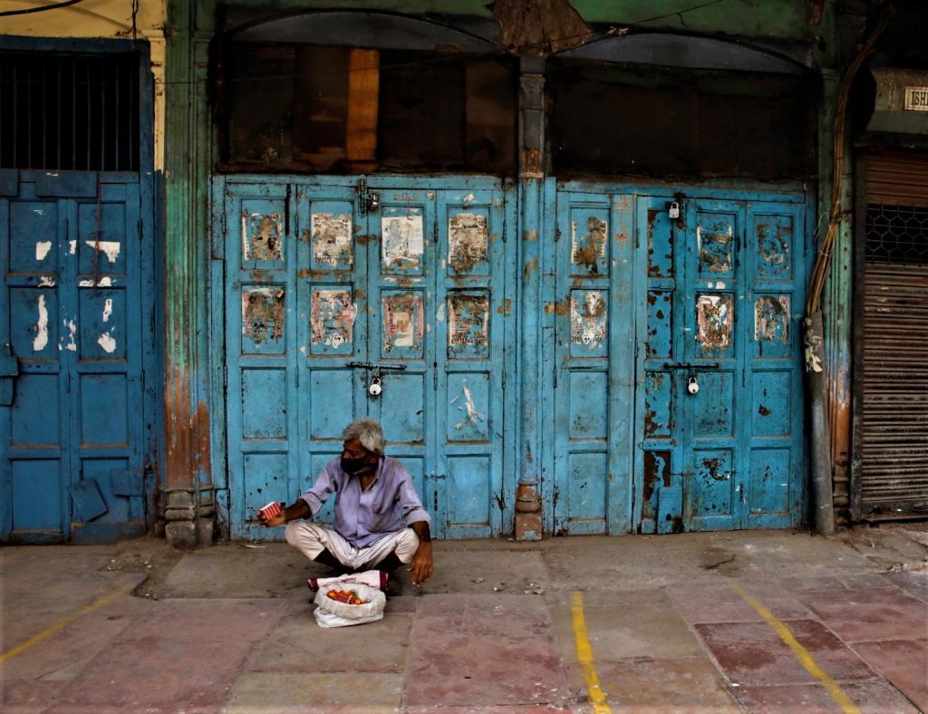 Lockdown second wave Delhi. Photo: Vikas Choudhary