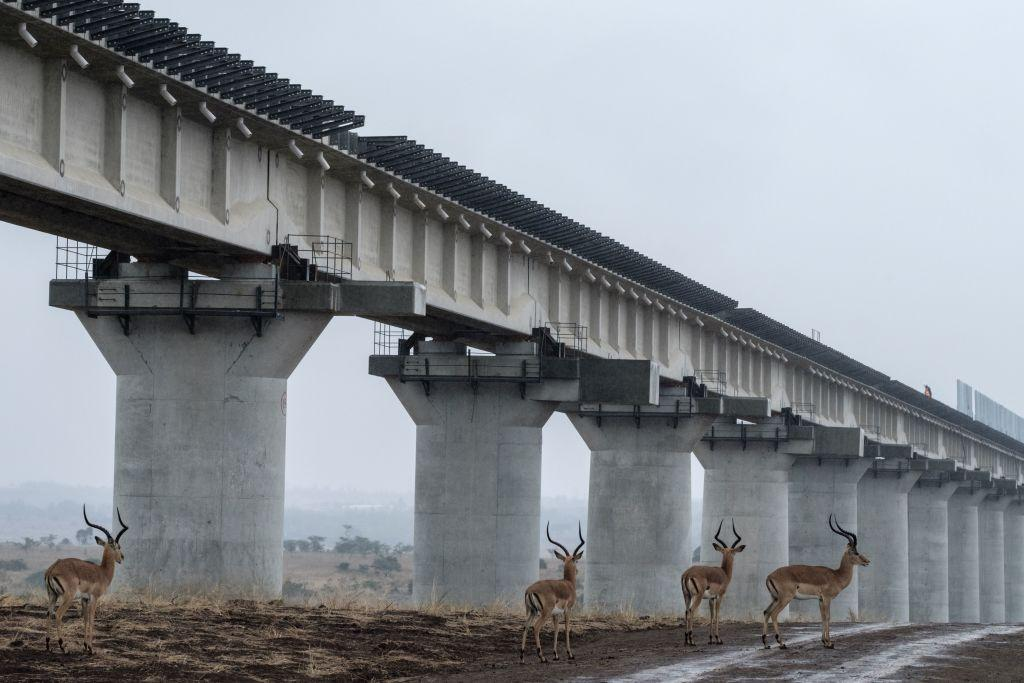 Kenya's huge new railway project is causing environmental damage. Photo: YASUYOSHI CHIBA / AFP via Getty Images