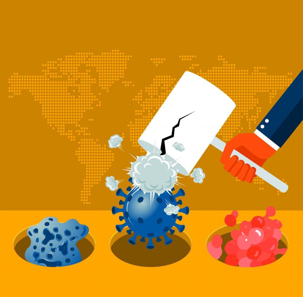 Silent pandemic needs agenda for change. Illustration: Ritika Vohra