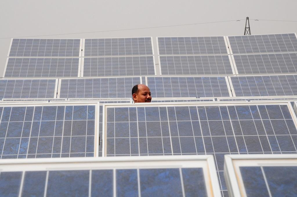 Government approves net metering for solar rooftop up to 500 kW capacity. Photo: Meeta Ahlawat