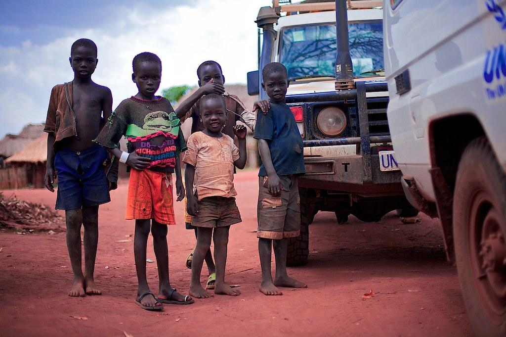 In South Sudan, 4.5 million children in need of humanitarian support, says UNICEF report. Photo: Flickr