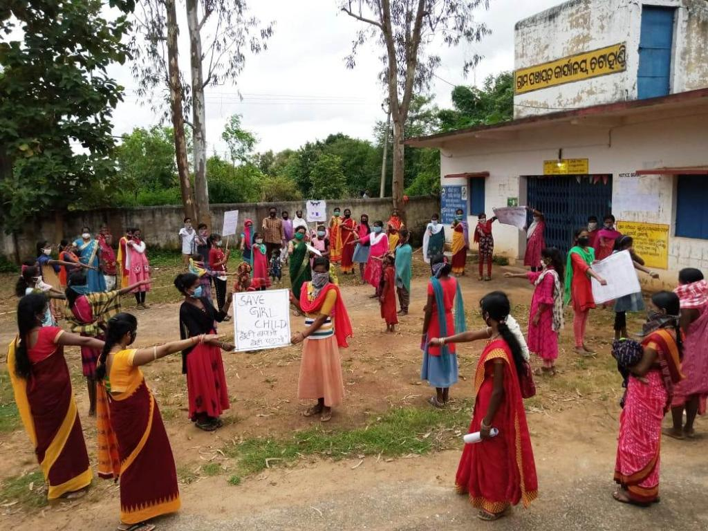 As many as 3,970 villages in Odisha were declared child marriage-free between January and the first week of July 2021. Photo: Priya Ranjan Sahu