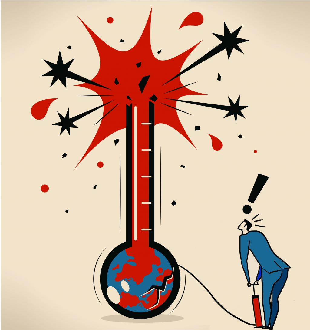 This heatwave is not a weather blip; illustration: Ritika Bohra