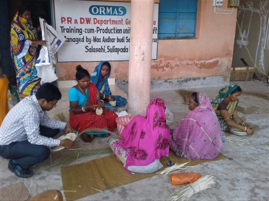 Over 1,100 members of 20 women producers groups in the tribal villages of Odisha's Mayurbhanj district are diversifying the utility of Sabai grass and bringing eco-friendly furniture, bags, boxes, tablemats and other items to the shelves. The grass was earlier used only for making ropes. Around 15 local women of the district formed the first self help group in 2006 to cultivate the art of weaving the grass into useful goods and decorative items, said Kalpana Jena of Kujidihi, the leader of one of the organisations. Now, hundreds of women in tribal-majority villages such as Asanabani, Pathara and Andharisole are engaged in the art.