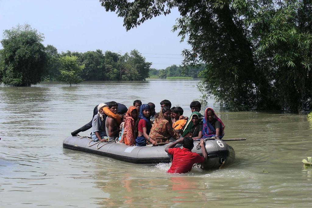 बाढ़ से खतरे में आने वाली आबादी में हुई एक चौथाई की वृद्धि: अध्ययन