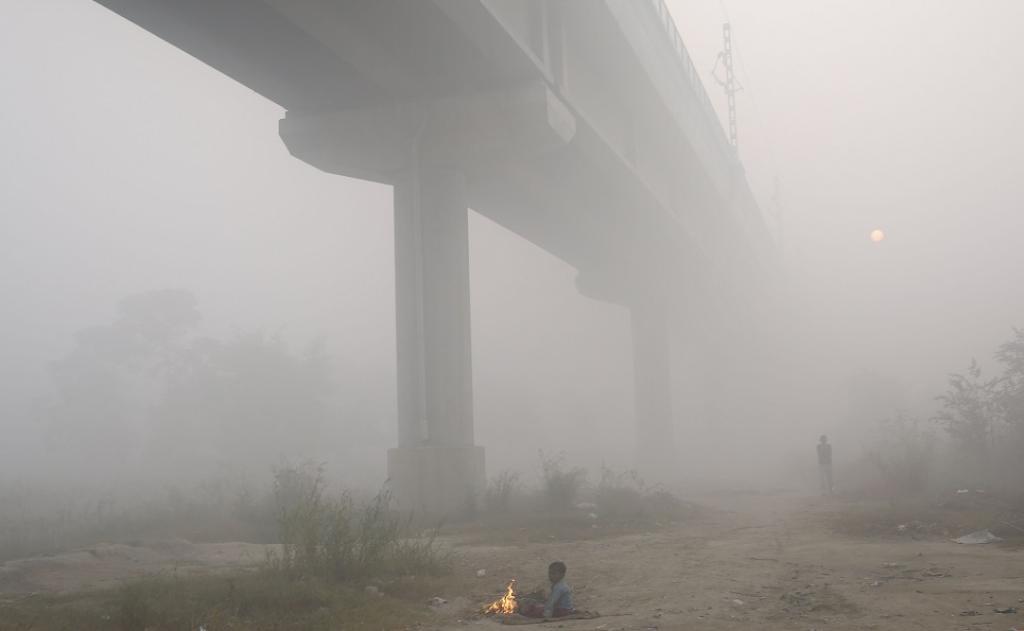 Smog over Delhi. Photo: Vikas Choudhary / CSE