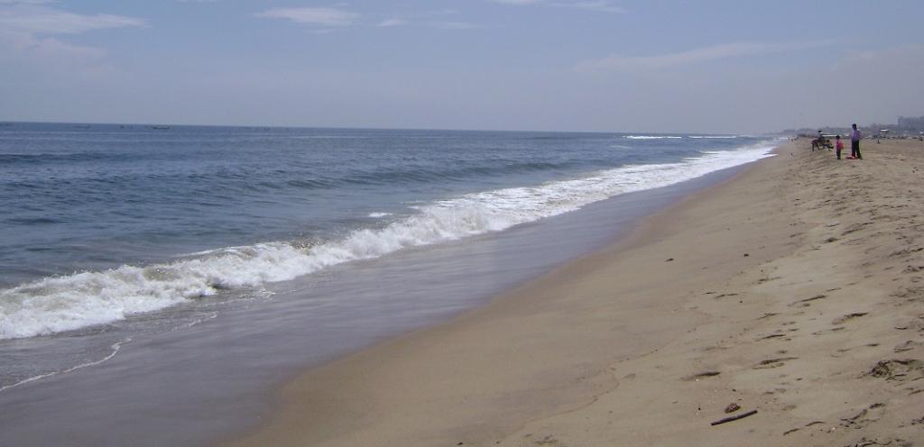 The Marina Beach in Chennai. Photo: Wikimedia Commons