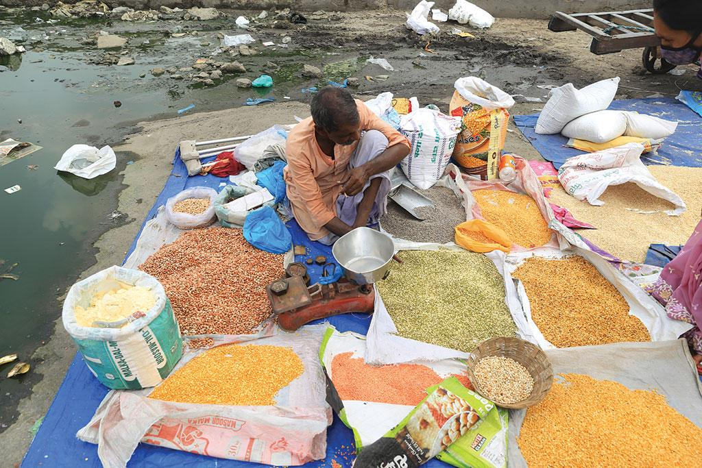 Land under kharif pulses was growing at  8 per cent in 1980 but by 1990 the trend turned negative, with the acreage declining at -8 per cent (Photograph: Rajkumar Verma)
