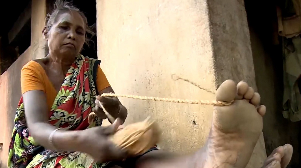 The tribe, categorised as 'Particularly Vulnerable Tribal Group' (PVTG) by the Government of India, initially used the creeper to craft products for use at their own homes, such as roped to tether cattle, hang pumpkins and milk pots from the roofs, fences to protect vegetable fields, among other things.   Most families make Siali creeper items collaboratively, with all members involved in the process, said Amarbar Biswal, a social worker.