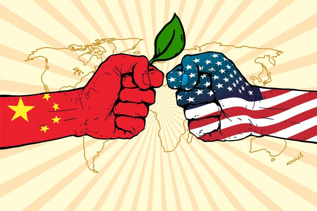 China-US clash illustration: Ritika Bohra