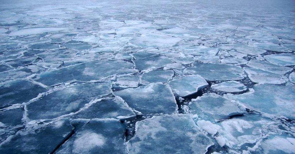 The report makes a number of worrying observations about the climate crisis facing the world. For instance, sea-level rise has accelerated, threatening lives and livelihoods, according to the report. It will continue for centuries. Here, melting sea ice in the Arctic is seen. Photo: Pink floyd88 a / Twitter.