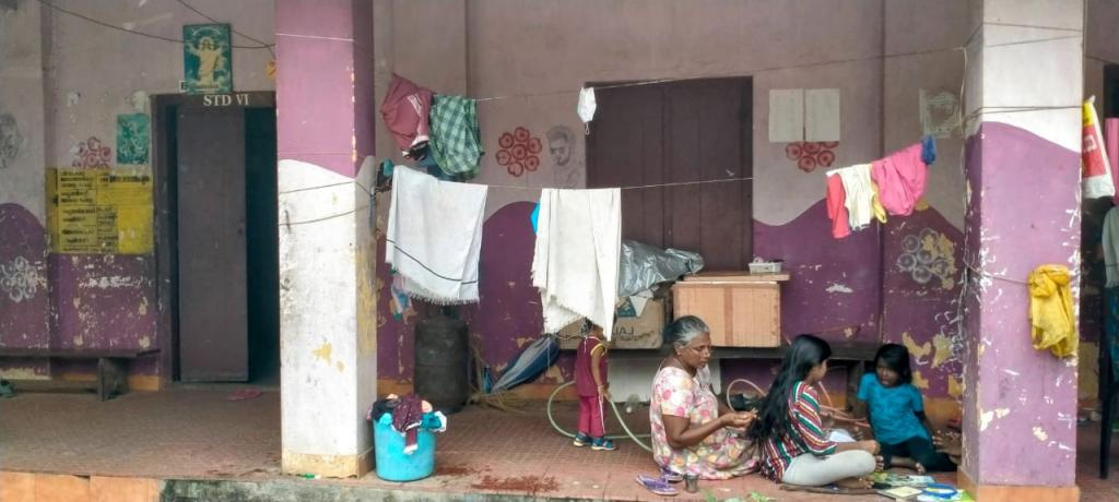 Why 'climate refugees' in this Kerala village don't want schools to reopen. Photo: KA Shaji