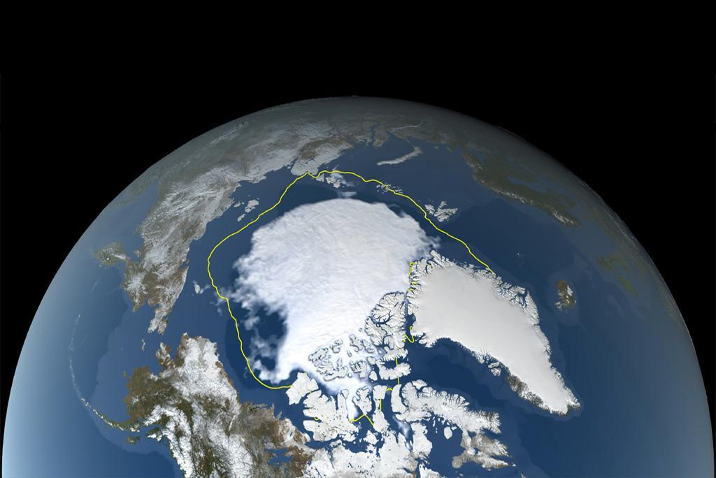 2021 की गर्मियों में आर्कटिक की समुद्री बर्फ अभी तक दर्ज सबसे निचले स्तर पर पहुंची : नासा