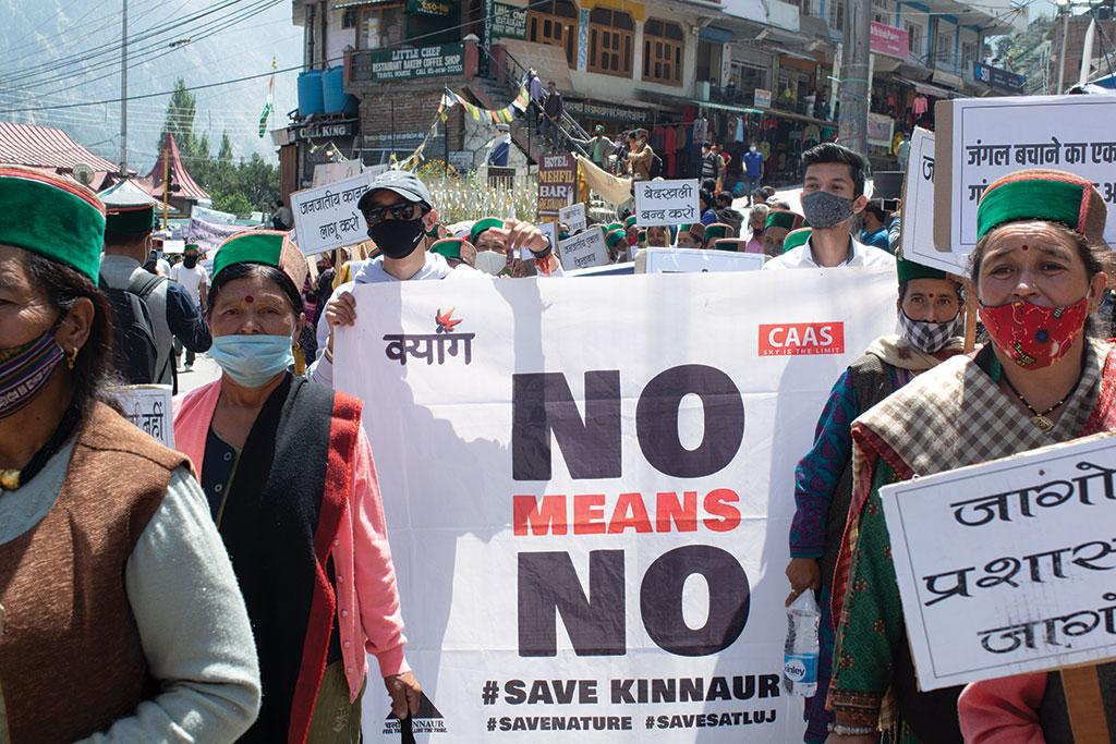 protests against hydropower projects