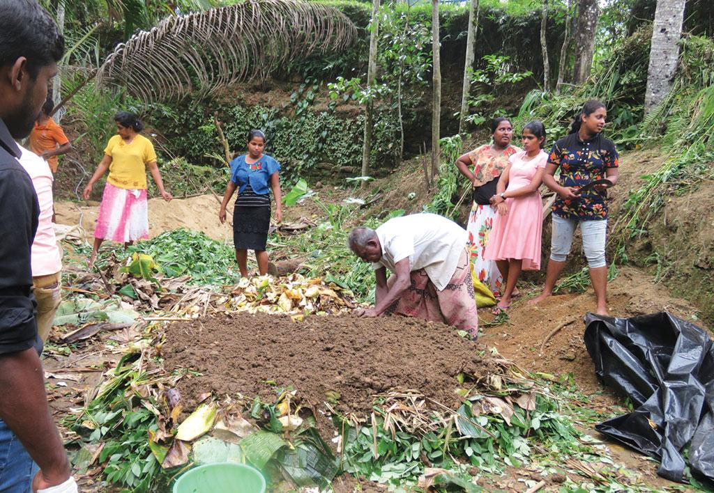 It can take three to five years for a farmer to switch completely to organic farming and an entire village can take five to eight years.