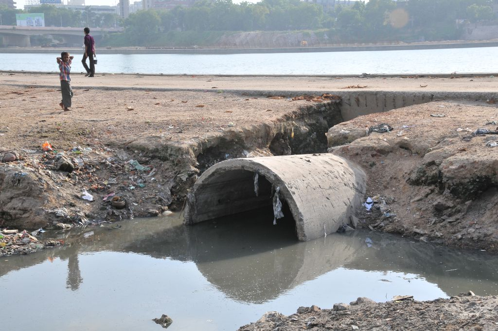 The coronavirus might get transmitted to those operating sewage treatment plants