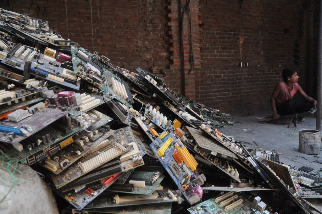 How effective is CPCB in its management of e-waste?