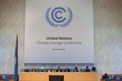 Parties discuss aspects of global stocktake at Bonn climate talks