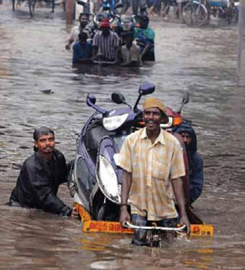 Floods have become a chronic problem in Chennai (Photo: REUTERS)