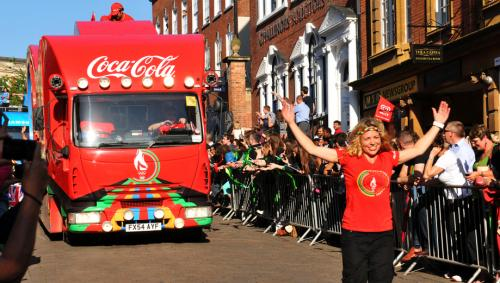 Coca-Cola was the official sponsor of the London 2012 Olympic Torch Relay (Credit: iStock Images)