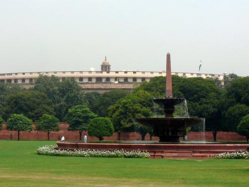 Parliament House, New Delhi  Credit: Flickr