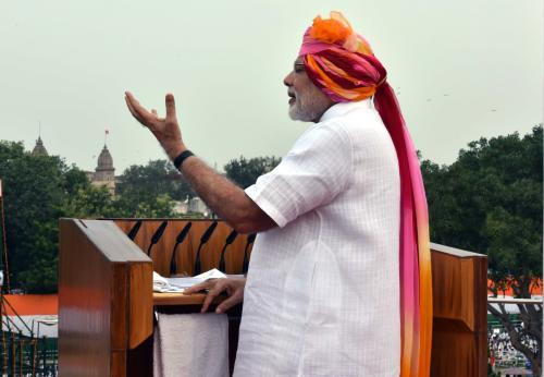 How true were PM Modi's claims made during Independence Day speech?