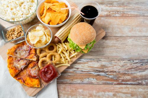 Junk foods almost always use more energy, but land and water use vary between products (Credit: iStock)