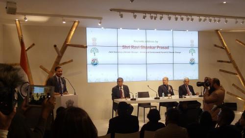 India Pavilion at COP22 inaugurated