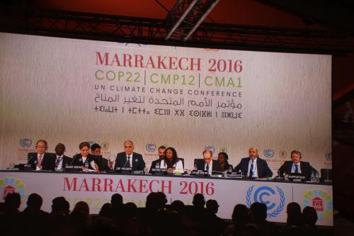 COP22: opening session on agriculture discusses climate adaptation, food security