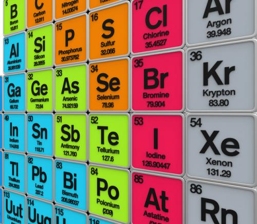 The new elements will be in the seventh row of the periodic table (Credit: iStock)
